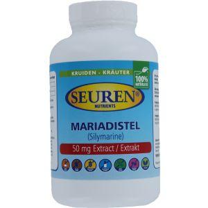 Seuren Nutrients Mariadistel 600 mg 100 Capsules
