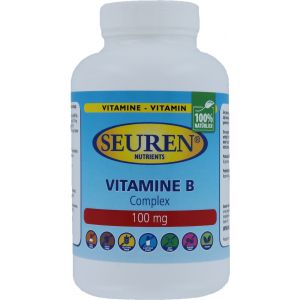 Seuren Nutrients Vitamine B Complex 100 mg 100 Tabletten