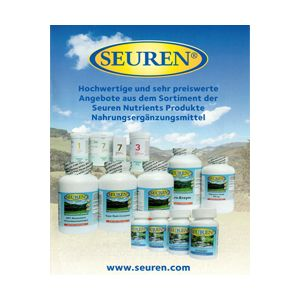 Catalogus Seuren Nutrients (in het Duits)